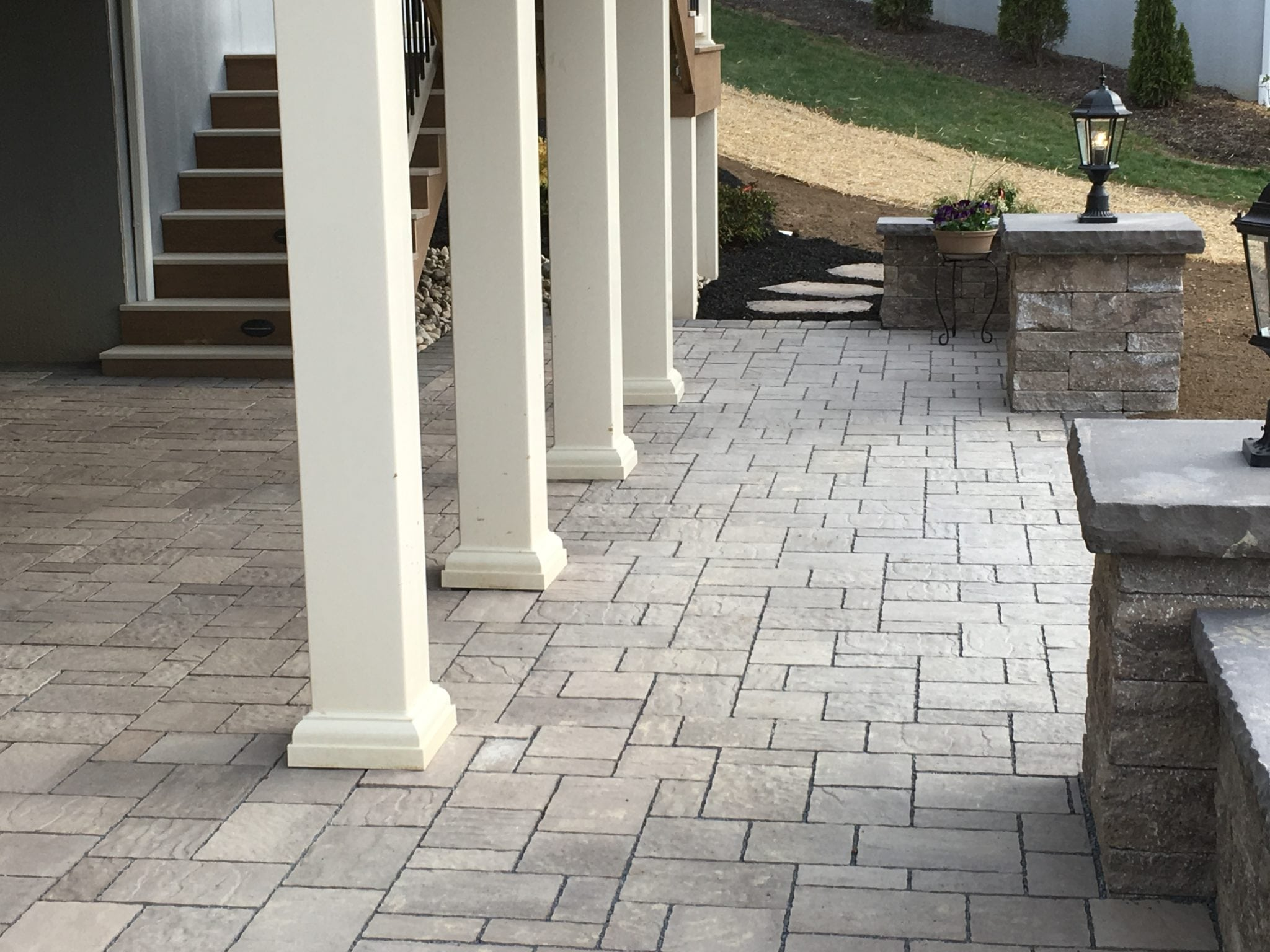 Our Customers Are Satisfied Knowing They Are Enjoying Their Hardscape  Design Ideas And Are Being Environmentally Conscious! Pervious Walkway And  Patio ...